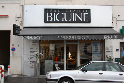 MAISON DE BEAUTE JEAN-CLAUDE BIGUINE