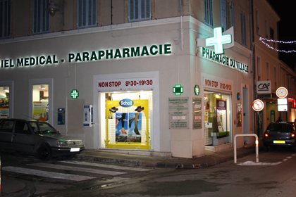 PHARMACIE DU VILLAGE