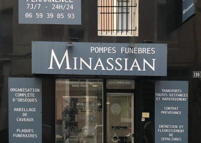 POMPES FUNEBRES MARBRERIE MINASSIAN